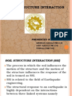 Soil Structure Interaction(Ssi)