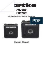 Manual Hartke HD 25