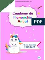 Cuaderno Anualplanes Me 2019 2020
