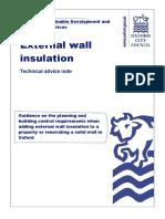 External Wall Insulation BAC