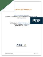 Part-1 Unboxing & Installation of PLC Training Kit
