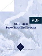 SLRC SEB Bonuses and Calendar
