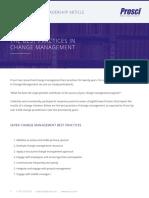 7 Best Practices in Change Management TL