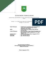 Dokumen Tender Pengeboran PKU Dumai Kirim