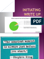 4 Initiating Write Up 1