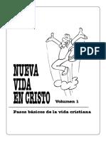 Nueva Vida en Cristo - Vol 1