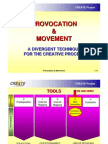 Provocation&Movement