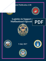 JP 4-08, Logistics in Support of Multinational Operations, 05 July 2017
