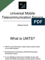 UMTS Presentation Ericsson
