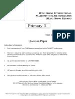 Hkimo 2018 Practice Paper g3