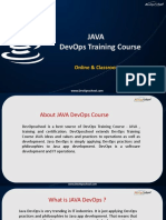 JAVA DevOps Training & Certification by Experienced DevOpsSchool