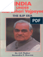 1.8 - India Under Atal Bihari Vajpayee the Bjp Era