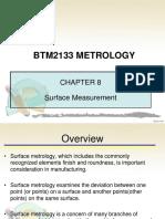 BTM2133-Chapter 8 Surface Measurement