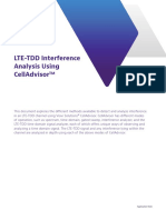Lte Tdd Interference Analysis Using Celladvisor Application Notes En