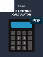 The Life Time Calculator