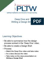 Writing a design brief