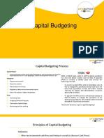 1 Capital Budgeting
