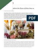 Fleurs Séchées   La Déco Tendance Du Printemps 2019