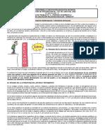 Guía de trabajo N° 3  SEGUNDO PERIODO- Grado 9