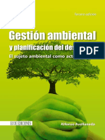Gestión Ambiental y Planificación Del Desarrollo