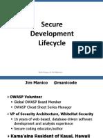 Jim Manico (Hamburg) - Securiing the SDLC