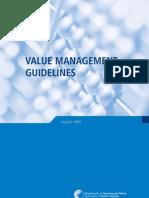 1. Value Management Guidelines