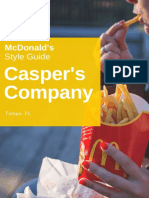 Mcdonalds Style Guide