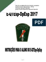 Instruções Para o Aluno Do E-qtesp-opesp 2017_1
