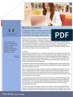 Case Study Marico Limited