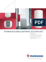 Catalogo Termoacumuladores Eletricos