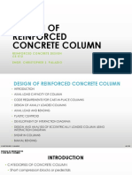 Lecture 5 - Reinforced Concrete - Column
