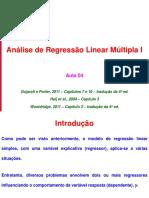 Econometria201401 Aula04 ARLM I Estimacao