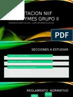 Capacitacion Niif Para Pymes Grupo II