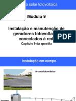 Modulo 9 - Instalação e Manutenção