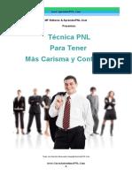 Técnica PNL Para Tener Más Carisma y Confianza!- CursoAutoestimaPNL