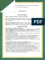 Programação Completa - II Simpósio de História Política Da Faculdade Saberes (1)