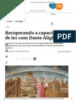 Recuperando a Capacidade de Ler Com Dante Alighieri