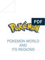 POKEMON WORLD AND ITS REGION