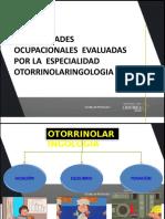 Evaluación Ocupacional de Audición