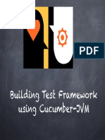 Cucumber Jvm Test Framework 1