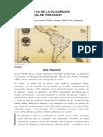 La Geopolítica de La Oligarquía Internacional en Paraguay