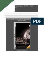 La Lista de Schindler 14.6 GB