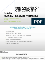 Lecture 7 - Reinforced Concrete - Slab (Direct Design)