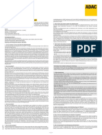 Bestimmungen Zur ADAC PlusMitgliedschaft 3044