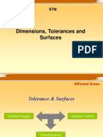 Lecture-3 Tolerances and Surfaces