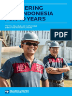 Partnering With Indonesia for 40 Years