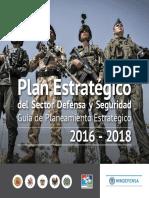 Guia Planeamiento Estrategico 2016-2018