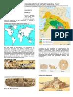 Taller grado sexto Mesopotamia