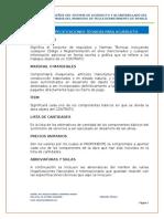 Especificaciones Técnicas - Linda María
