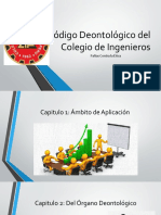 Código Deontológico Del Colegio de Ingenieros